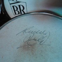 Buddy Rich Fibes signature