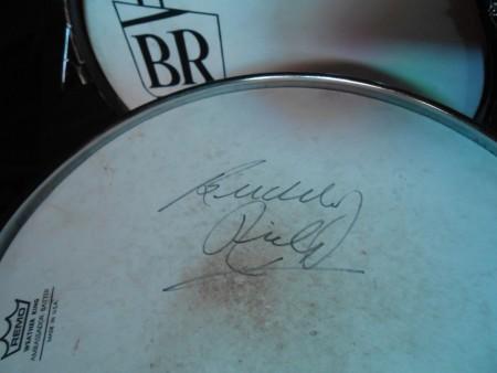Buddy Rich Fibes signature