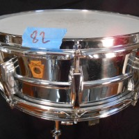 Jason McGerr Ludwig 400 5x14 chrome over brass supraphonic snare drum