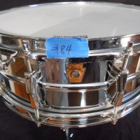 Ludwig 402 6.5x14 chrome over brass supraphonic snare drum