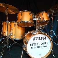 Elvin Jones drum set Tama Crestar