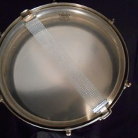 Ludwig Standard 4x14 nickel over brass snare drum