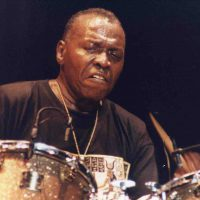 Elvin Jones's Yamaha Maple Custom Drum Set