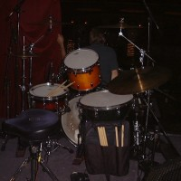 Tre Cool Greenday Pays A Visit Donn Bennett S Drum Vaultdonn