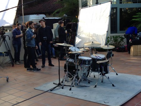 Ringo Starr Video Shoot 3/19