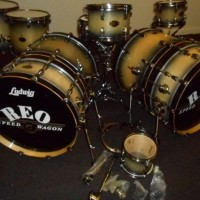 Bryan Hitt REO Speedwagon Ludwig Epic Drum Set