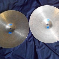 "Elvin Jones 70s K Zildjian NOS 14"" Hi-hats"