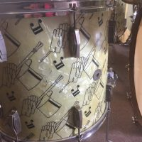 "Ludwig Top Hat and Cane 16"" floor tom"