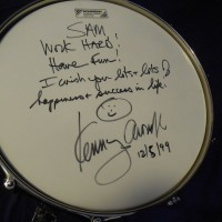 Kenny Aronoff Tama Limeted Edition 6.5x14 Trackmaster Snare Drum