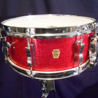 Ludwig Red Sparkle Classic snare
