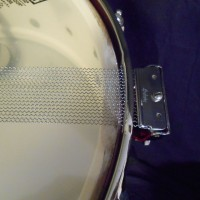 Ludwig 1960 Red Sparkle Classic 5.5x14 Snare Drum, $595.00