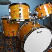 Ludwig Citrus Mod Drum Set