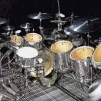David Silveria KORN Tama Starclassic Chrome Set