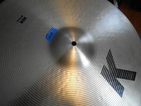"""Elvin Jones' Zildjian 20"""" K Ride cymbal"""