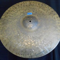 "Elvin Jones' Unlathed 20"" K Zildjain, Custom made."