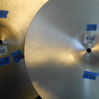Elvin Jones' Zildjian Light hi Hat cymbals