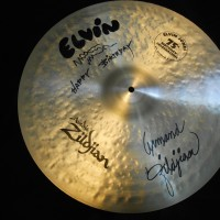 "Elvin Jones' Zildjian 20"" Birthday Cymbal, signed"