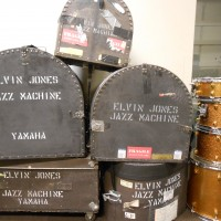Elvin Jones Drum set video