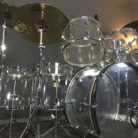Joey Kramer's Aerosmith Fibes Drum Set