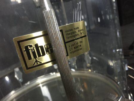 Joey Kramer's Aerosmith Fibes Drum Set