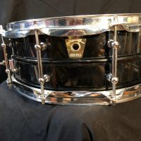 Bun E Carlos Cheap trick signed Ludwig Black Beauty
