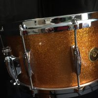Gretsch USA Maple Gold Sparkle Nitron