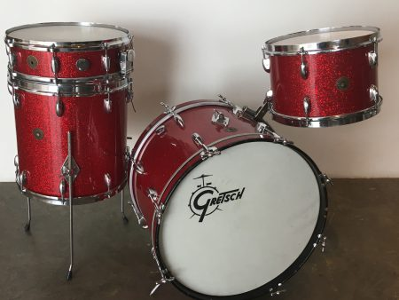 Gretsch red Sparkle Progressive Jazz