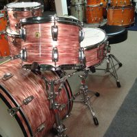 Bun E. Carlos, Cheap Trick, Ludwig Legacy Pink Oyster pearl