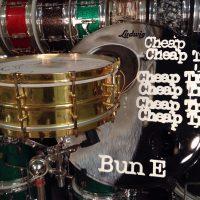 Bun E. Carlos's Cheap Trick 1929 brass Snare drum