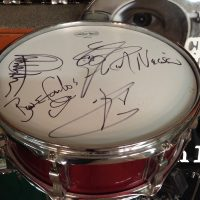 Bun E. Carlos's Cheap trick Ludwig Wine red Lacquer