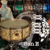 Bun E. Carlos's Cheap trick Ludwig 1920s Solid Shell Streaked Opal