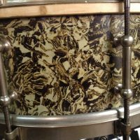 Bun E. Carlos's Cheap Trick Ludwig 1920s Solid Shell Marble Pearl