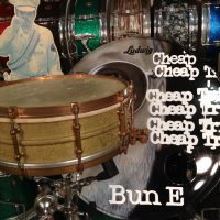 Bun E. Carlos's Cheap Trick Ludwig 1920s Stiple Gold