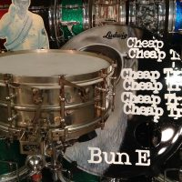 Bun E. Carlos's Cheap Trick Ludwig 1920s brass Supersensitive