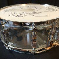 Bun E. Carlos Clear Vistalite Ludwig Snare Drum Cheap Trick