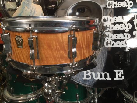 Bun E. Carlos's Cheap Trick Ludwig Satinwood 1994