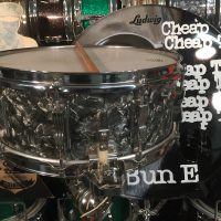 Cheap Trick, Bun E. Carlos, Ludwig 1969 Bob Yeager supersensitive
