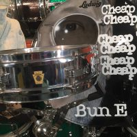 Cheap Trick, Bun E. Carlos, Ludwig 1968 Chrome piccolo