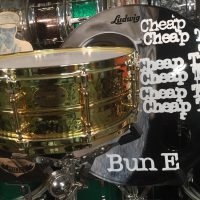 Bun E. Carlos's Cheap Trick Ludwig Prototype Brass on Brass