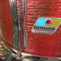 Bun E. Carlos's Cheap Trick Ludwig Prototype Red Ripple Vistalite