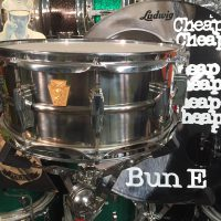 Bun E. Carlos's Cheap Trick Ludwig The Chief titanium