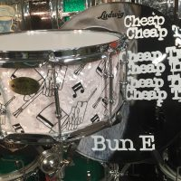 Bun E. Carlos's Cheap Trick Ludwig Top Hat 90th Anniversary