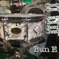 Bun E. Carlos's Cheap Trick Ludwig Top Hat 90th Anniversary 5x14