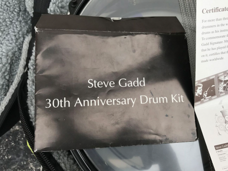 Steve Gadd Yamaha 30 Year Signature Set