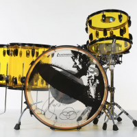 Jason Bonham Led Zeppelin Reunion Ludwig Vistalite Drum Set