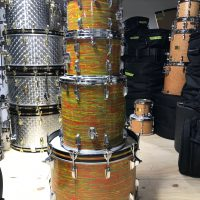 Ludwig 1970s Citrus Mod Drum Set