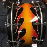 Denny Carmassi's Montrose Ludwig Flame Drum Set