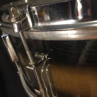 Slingerland 5x14Brown gold Duco snare drum