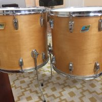 Ludwig Thermo Gloss Pro Beat natural Maple Drum Set