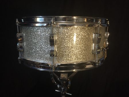 Ludwig Silver Sparkle Classic 5.5x14 Slvr Spkl Classic